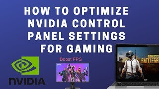 How to Optimize Nvidia Control Panel Settings for Gaming