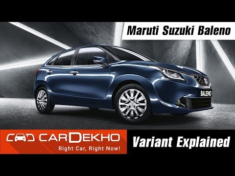 Maruti Suzuki Baleno - Which Variant To Buy?