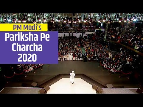 "PM interacts with Students at ""Pariksha Pe Charcha 2020"" in New Delhi"