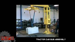 Aura Systems - Tractor Cab Sub Assembly