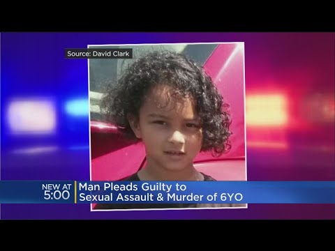 Man Pleads Guilty In Sexual Assault And Murder of 6 Year Old
