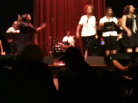 Tamika Nicole performing Down/Come Together at Yoshi's