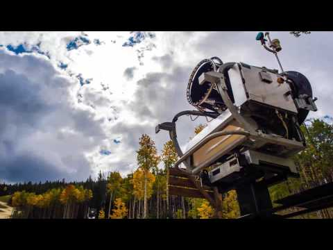 Snowmaking at Beaver Creek