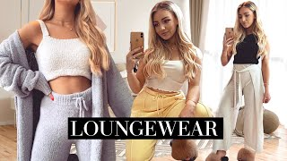 FEMININE LOUNGEWEAR OUTFITS / Casual Comfy Cute Outfit Ideas