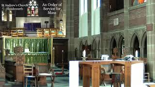 St Andrew's Parish Eucharist – Sunday 25th July 2021 – St James the Apostle
