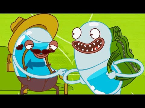 Hydro and Fluid - Backpack Travelling | Videos For Kids | Kids TV Shows | WildBrain Cartoons