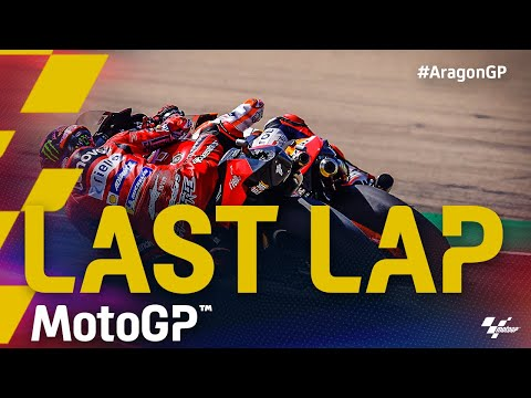 MotoGP 2021 第13戦アラゴンGP 決勝レースラストラップ動画