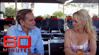 Pamela Anderson's latest project: making a vegan champagne! | 60 Minutes Australia