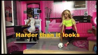 Harder than it looks| Barbie stopmotion