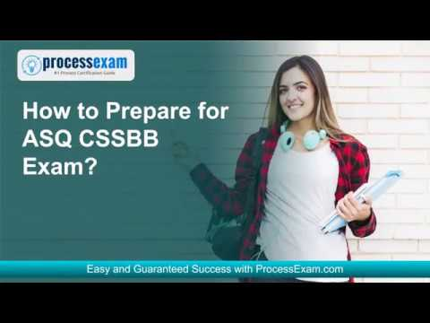 Get Yourself Ready for ASQ Certified Six Sigma Black Belt (CSSBB ...