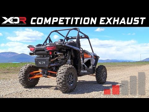 2016-19 Polaris RZR XP Turbo & XP4 Turbo - XDR Competition Exhaust System 7514