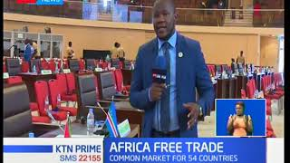 44 out of 55 African Nations sign Continental free trade area agreement in Kigali-Rwanda