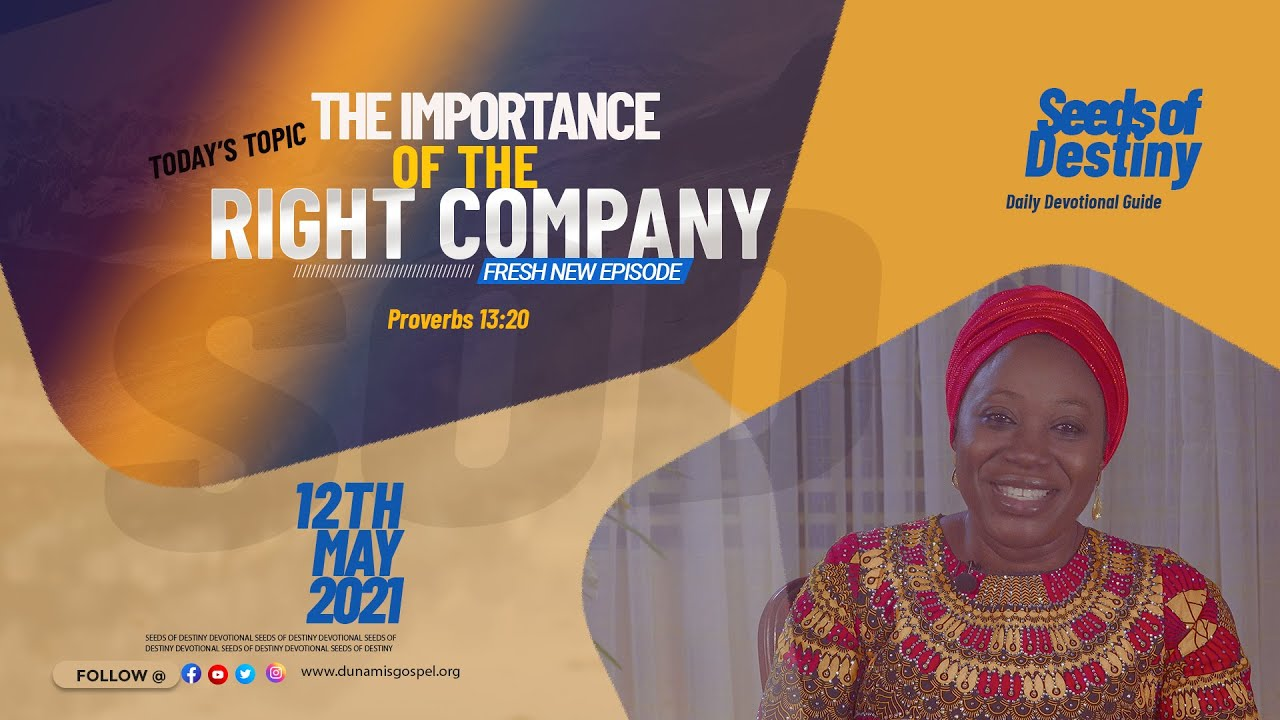 Dunamis Seeds of Destiny 12th May 2021 Today (Summary Video) by Dr Becky Paul-Enenche
