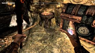 Skyrim Leg.Ed. Прохождение ep011. Разгадываем тайну легенды Красного Орла