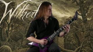 """WITHERFALL - """"What We Are Dying For"""" Guitar Playthrough by Jake Dreyer 