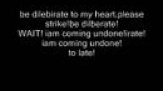 korn-coming undone with lyrics