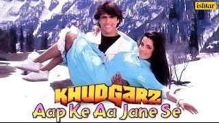 Aap Ke Aa Jane Se | Khudgarz | Govinda & Neelam | Mohammed Aziz, Sadhna Sargam | 90's Superhit Song