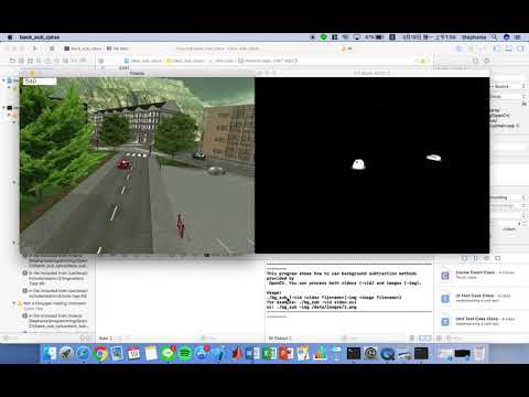 MOG Background Reduction - OpenCV with Python for Image and