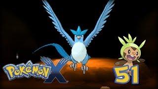Articuno  - (Pokémon) - Pokémon X - Cap.51 ¡Capturando Legendarios! El ave legendaria, Articuno