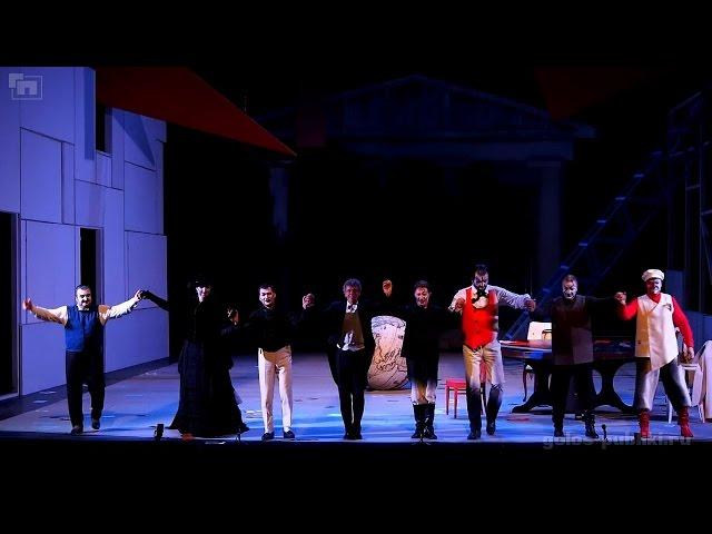 Шостакович - Игроки (Новая Опера, 4 мая 2016)
