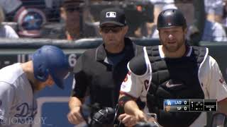 Madison Bumgarner yells at Max Muncy, a breakdown