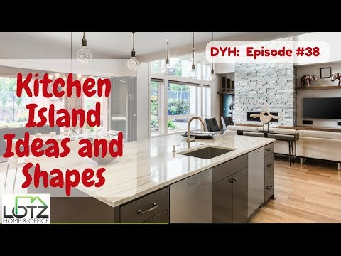 Kitchen Island Ideas and Shapes