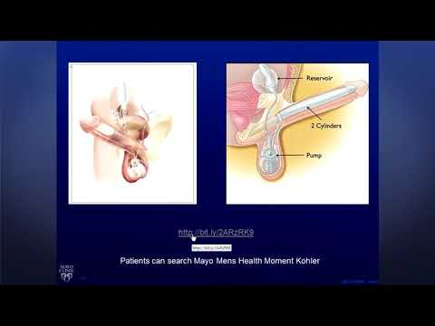 Video to massage the prostate gland