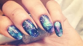 How To // Galaxy Nails