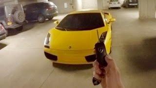 What It's Like to Drive a Lamborghini Gallardo (Night POV!)