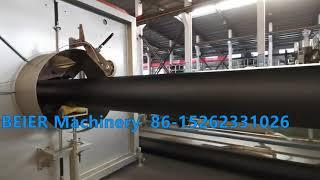 Beier Machinery PE pipe  extrusion machine 315-800 Algeria