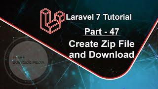Laravel 7 Tutorial - Create Zip File and Download