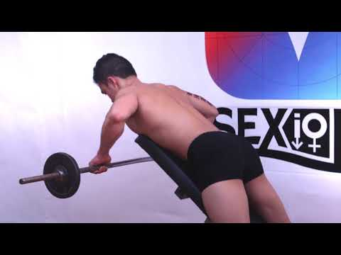 Incline Bench Pull, Tutorial, Exercise Video, Workout, SEXioFIT
