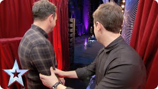 First look! Ant is tackled by a Terrier | Britain's Got Talent 2015