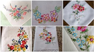 Very Attractive And Classic Brazilian Hand Embroidery Designs Patterns For Table Cover