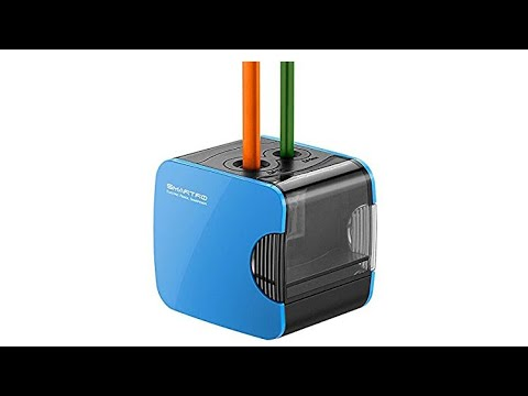 SMARTPRO Electric Pencil Sharpener, USB or Battery Operated Heavy Duty sold by XE Electronics