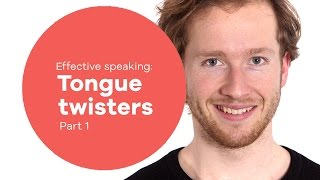 Vocal Exercise - Speaking #3: Tongue Twisters Part 1