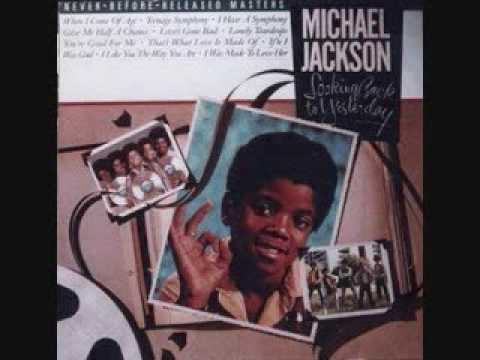 Michael Jackson - Lonely Teardrops w/ lyrics