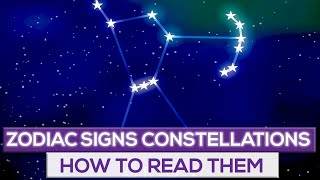 How To Learn The Zodiac Signs Constellations!