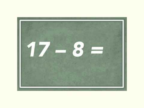 comment poser et calculer une soustraction