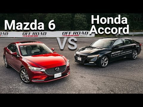 Mazda 6 VS Honda Accord - Frente a frente