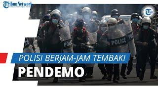 Polisi Berjam-jam Tembaki Pendemo Anti-Kudeta Militer, Demonstran: Kami akan Berjuang Sampai Menang