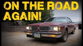 Making a $300 Beater Oldsmobile Roadworthy!