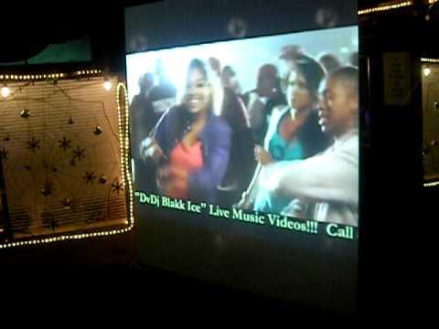 DVDJ BLAKK ICE B4 THE PARTY VIDEO MIXING LIVE!!!