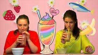 Lauřin svět | Děláme s Eliškou pěkně nechutný smoothie