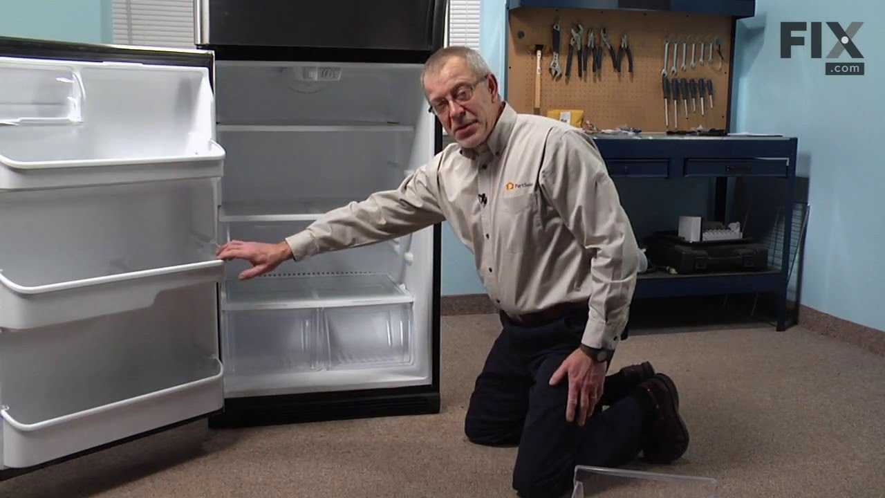 Replacing your Frigidaire Refrigerator Refrigerator Crisper Pan