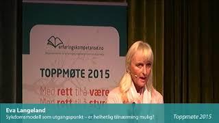 Toppmøte 2015 – Eva Langeland