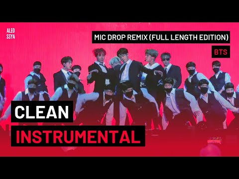 BTS (방탄소년단) 'MIC Drop (Steve Aoki Remix)'  [Full Length Edition] - INSTRUMENTAL REMAKE BY ALEOSSYA