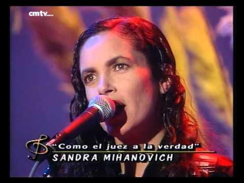 Sandra Mihanovich video Cómo el juez a la verdad - CM Vivo 1997