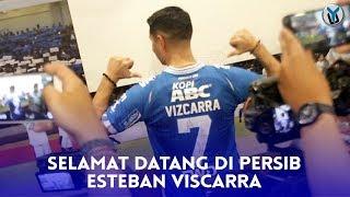 Esteban Vizcarra Resmi Diperkenalkan Persib, Target Juara!