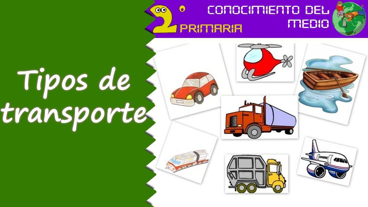 Cono, 2º Primaria. Tema 12. Tipos de transporte
